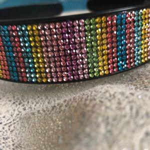 Accessories - 🌈 rainbow rhinestone headband